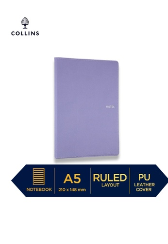 Collins purple Collins Metropolitan Melbourne  ─  Notebook A5 Ruled Lilac D2921HL99D19DDGS_1