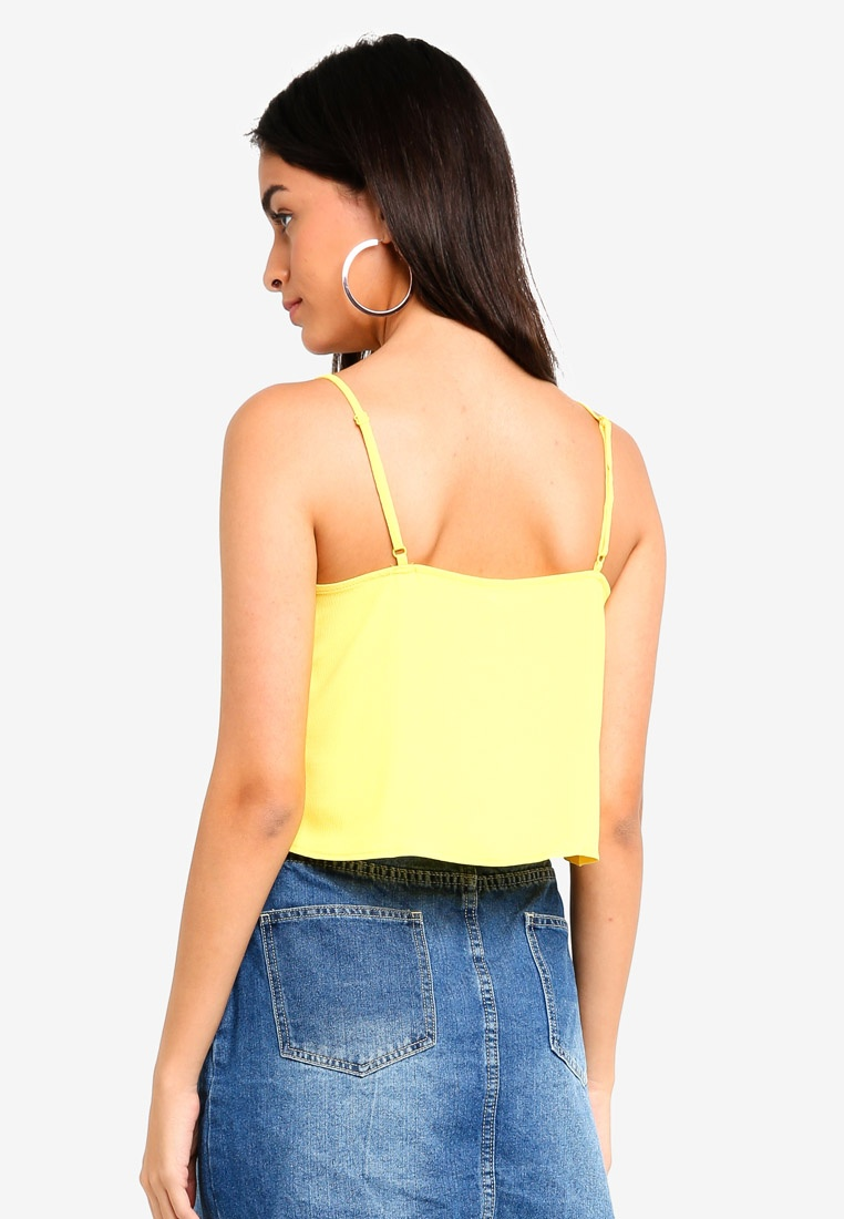 Top Cowl Yellow Naomi Neck Supre tYPwH