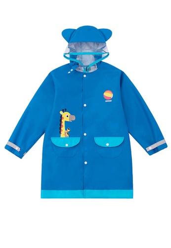 Twenty Eight Shoes blue VANSA Fashion Cartoon Raincoat VCK-R15280A 3038CKAC90FFFEGS_1