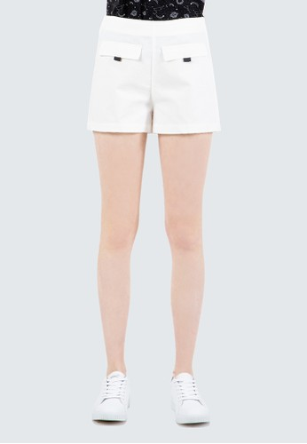 COLORBOX white Front Pocket Short A9C09AAD933767GS_1
