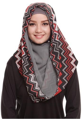 Mybamus Ethnic Hoodie Double Side Gray