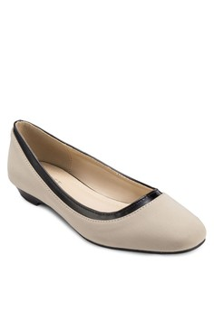 Lucille Square-Toe Flats