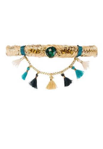 HIPANEMA multi Wooven bracelet Tasmania turquoise BADC9ACC7367F7GS_1