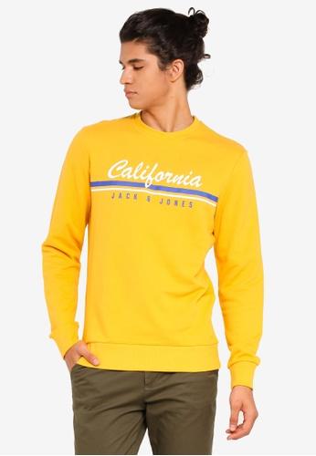 best loved acb38 b60ae Retro Cali Logo Print Sweater
