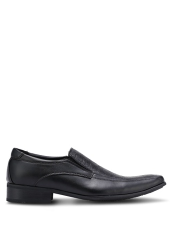 Knight black Business Shoes KN875SH0RF8XMY_1