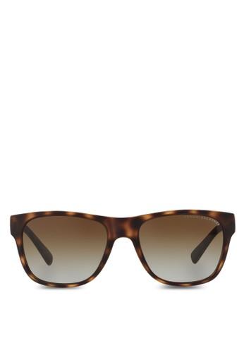 Armani Urban Atesprit 台中titude 鑄模偏光太陽眼鏡, 飾品配件, 飾品配件