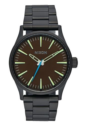 Nixon black Nixon - Sentry 38 SS Black Watch NI855AC87EAISG_1
