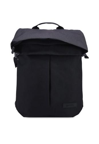 CRUMPLER black Propellor Laptop Backpack D3EA0ACBF5EADEGS_1