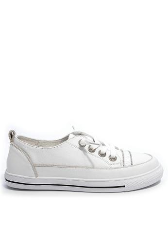 Twenty Eight Shoes Smart Causal Leather Sneakers RX6010 377E8SHA6C0E1EGS_1