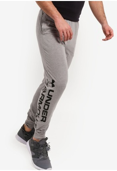 1afc91ea Under Armour grey Sportstyle Cotton Graphic Joggers 65231AAC679901GS_1