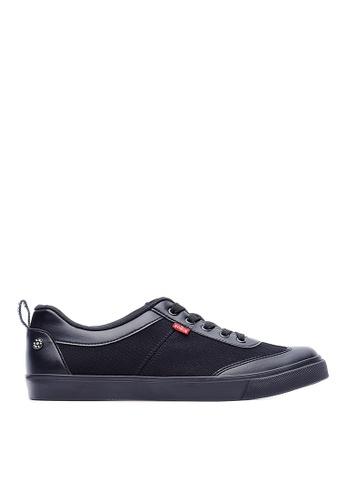 Life8 black Edwin X Life8 Co-Branded Casual Sneaker Shoes-09699-Black LI283SH0GNTVSG_1