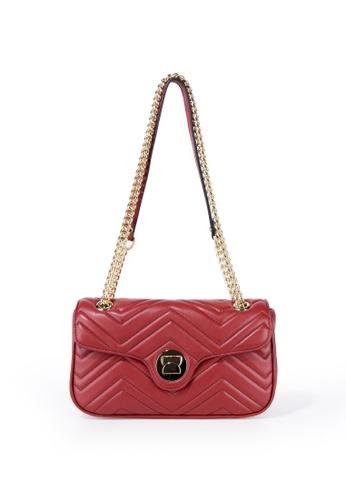 Esfolar 紅色 Esfolar Shoulder  Bag (EA300232) E4E18ACA6D2D85GS_1