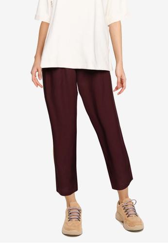GLOBAL WORK brown Woven Pants 1DEB1AAE83C971GS_1