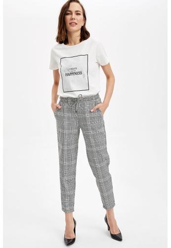 DeFacto white Woman Trousers 9DA4DAAD83C787GS_1