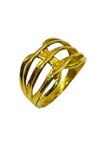 LITZ gold LITZ 916 (22K) Gold Ring CGR0033 (3.78g) F6846AC5A211C4GS_1