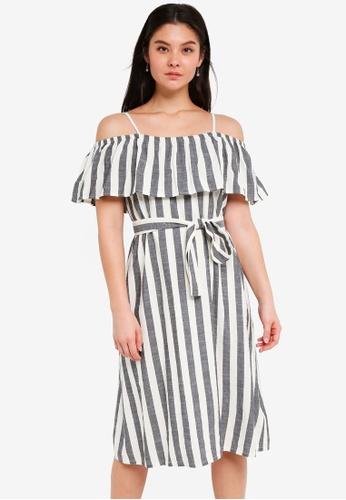 ICHI black Desta Dress 0FF85AAC308C29GS_1