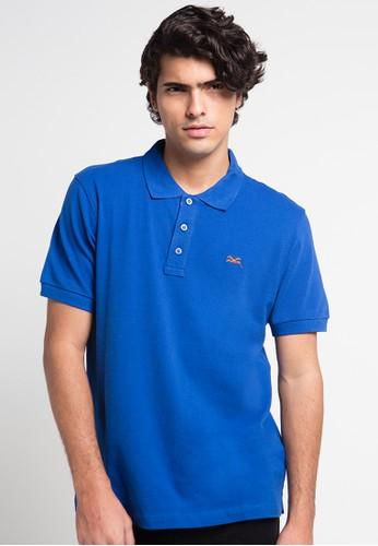 CARVIL blue Polo Man Blu-10B CA566AA0UGXLID_1