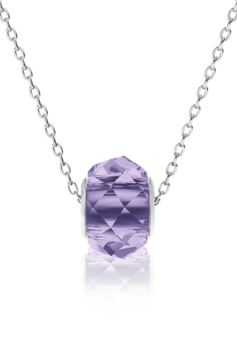 Her Jewellery purple BeCharmed Briolette Bead Pendant (Violet) - Made with premium grade crystals from Austria 19B4DAC951DED3GS_1