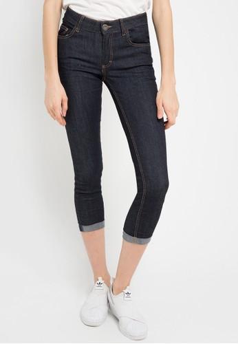 Miyoshi Josei navy 42Rb Cropped Jeans MI116AA0WEY1ID_1