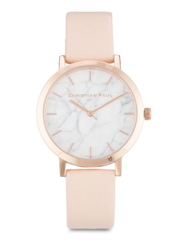 Bonesprit招聘di 35mm 大理石錶盤刻度圓錶, 錶類, 飾品配件