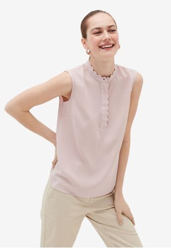 OVS pink Basic Shirts 6510EAAFD3C845GS_1