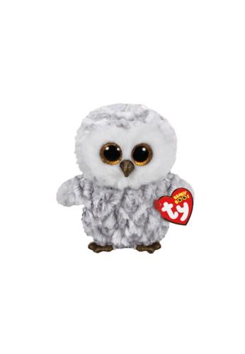 TY TY - Beanie Boos Owlette White Owl - R  - Boneka burung hantu bermata belo 27E43THE976505GS_1