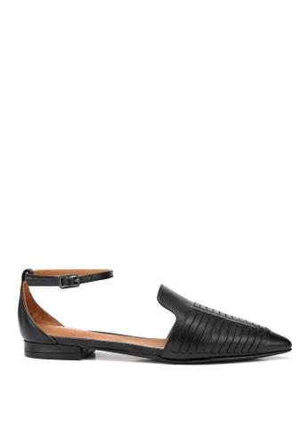 RABEANCO black BERACAMY RUTA BRAIDED Sandals - Black 17C82SHFA65770GS_1