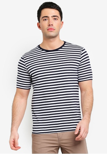 United Colors of Benetton multi Striped T-shirt 6265AAAC7EC866GS_1