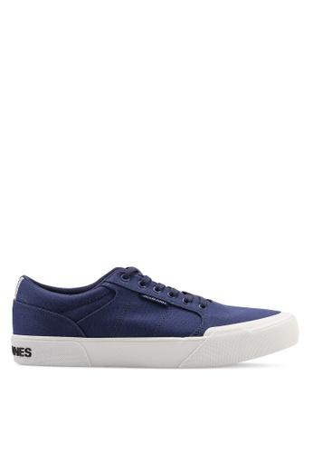 Jack & Jones navy Thai Sneakers B5712SH8EF1D67GS_1