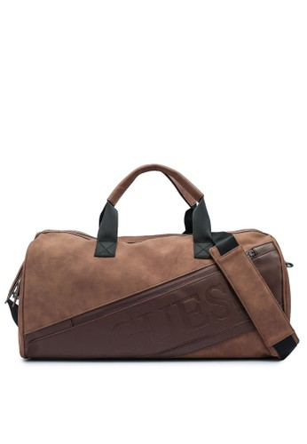 Guess brown Motorsport Small Duffel 875F2AC3CB5956GS_1