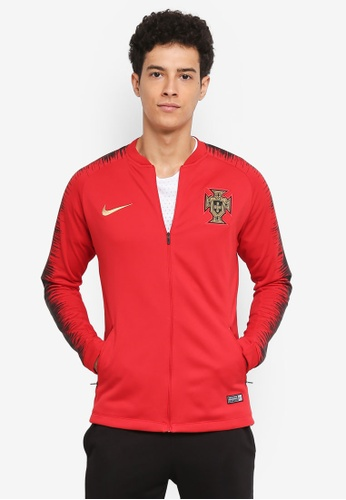 Nike black and red Men's Nike Portugal FB Jacket E7EE3AA7AA6A2AGS_1