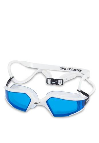 Aquapulse Max 亞洲版esprit 香港 outlet進階成人泳鏡, 運動, 服飾