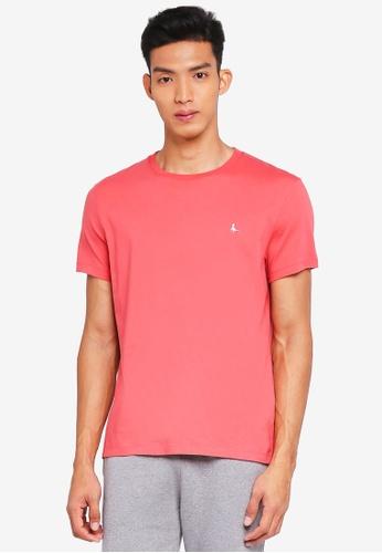 Jack Wills pink Sandleford T-Shirt 31301AAADA54E5GS_1