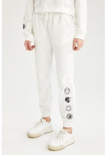 DeFacto beige Woman Knitted Trouser D56EEAACAA9B1BGS_1