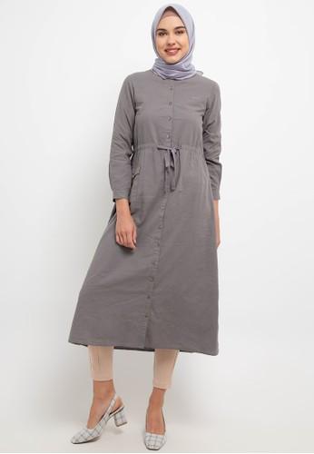 Cressida Ladies grey Amisha Dresses A7CB8AA976DAF9GS_1