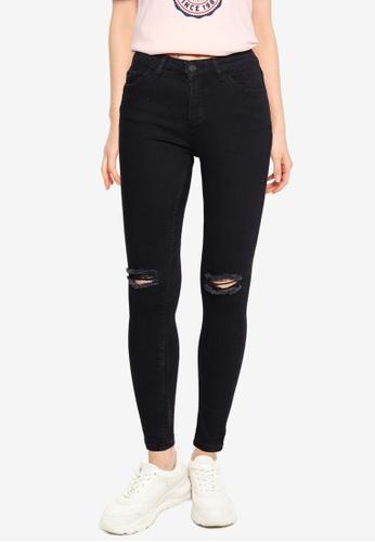 Aeropostale black High Waist Skinny Jeans 1D97FAA3A059C0GS_1