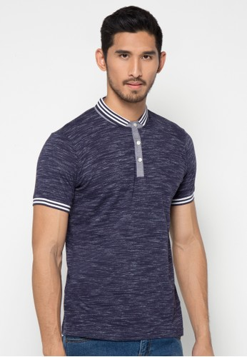 Solid Tuton Polo Shirt