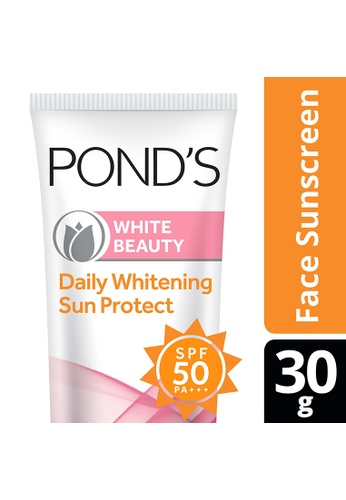 Pond's n/a Pond's White Beauty Daily Whitening Sun Protect SPF 50 30g 09E08BE13457C7GS_1