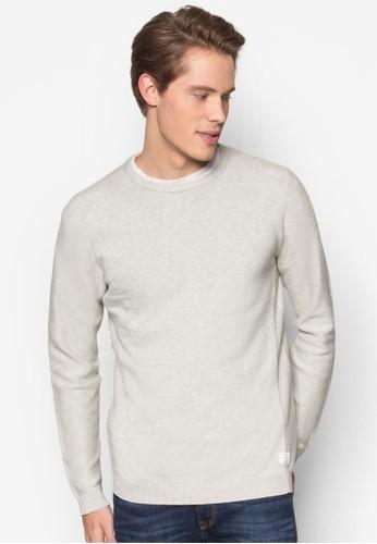 簡約針織長袖esprit hk store衫, 服飾, 服飾