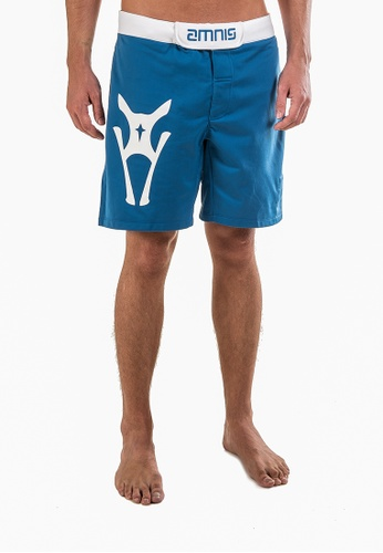 "AMNIG blue Men Fighter Shorts-20"" Blue AM133AA26LGNMY_1"