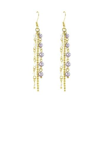 Glamorousky purple Trendy Earrings 4F8B9ACF581193GS_1