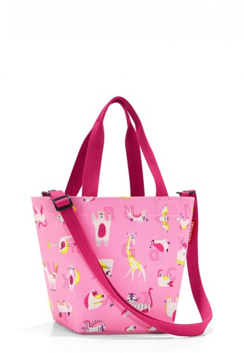 Reisenthel Shopper XS Kids ABC Friends Pink 6458AKC2DACFFAGS_1