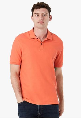 MARKS & SPENCER orange Pure Cotton Polo Shirt A94E3AA8B10391GS_1