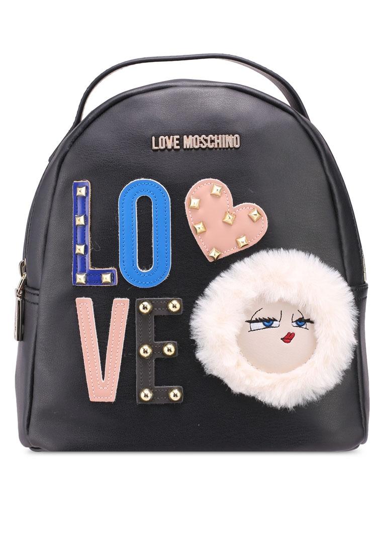 1842a3c8b41 Moschino Love Friday Borsa Black Backpack Black qW6CxxfEw5 for ...