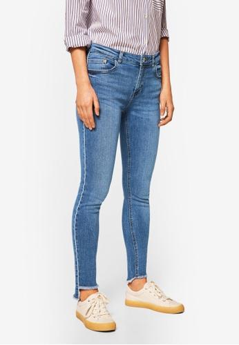 Mango blue Isa Skinny Jeans 4CB6AAA71BD0E6GS_1