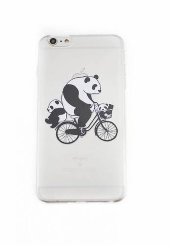 Fancy Cellphone Cases multi Panda Soft Transparent Case 6plus/6splus FA644AC61YCOPH_1