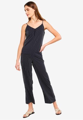 ZALORA BASICS multi Basic Relaxed Fit Jumpsuit 5B087AAB7913A9GS_1