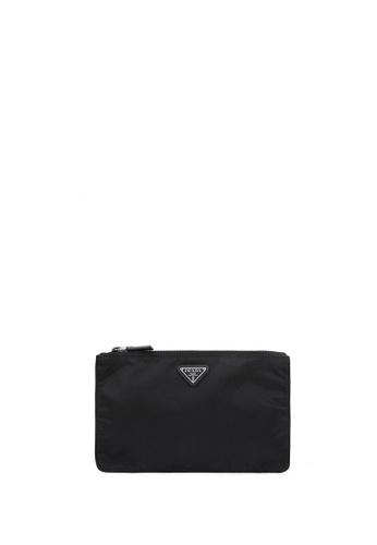 Prada black Logo Pouch FDC04ACF0E28F1GS_1