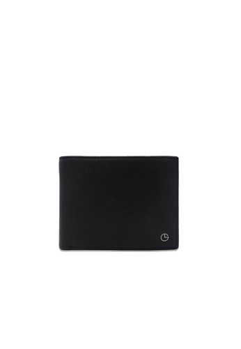 Goldlion black Goldlion Men Leather Wallet - Black F82A1AC1E0A968GS_1
