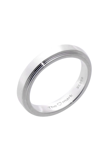 The LoveMark silver Happiness Ring with Artificial Diamond for Men lr0030m TH516AC64VBBPH_1